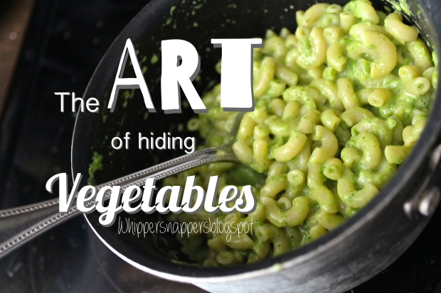 The Art of Hiding Vegetables